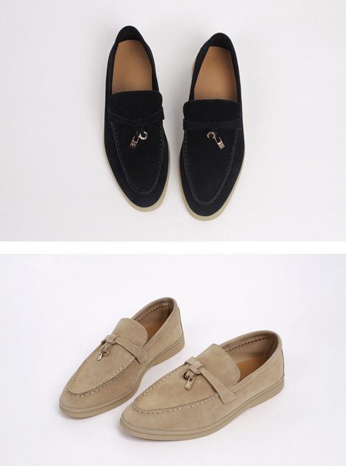 Loro leather_ loafer
